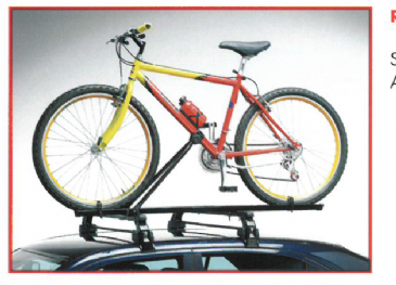 Universal Roof Mounted Lockable Upright Bicycle Rack Carrier
